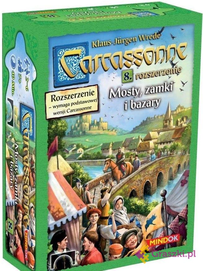 Carcassonne 8: Mosty, zamki i bazary   Bard // darmowa dostawa od 249.99 zł // wysyłka do 24 godzin! // odbiór osobisty w Opolu